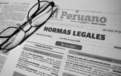 El Peruano: actualización semanal de normas legales (26/07/21 – 01/08/21)